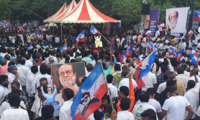 Rajinikanth fans hold demonstration in Chennai, urge the actor to enter politics